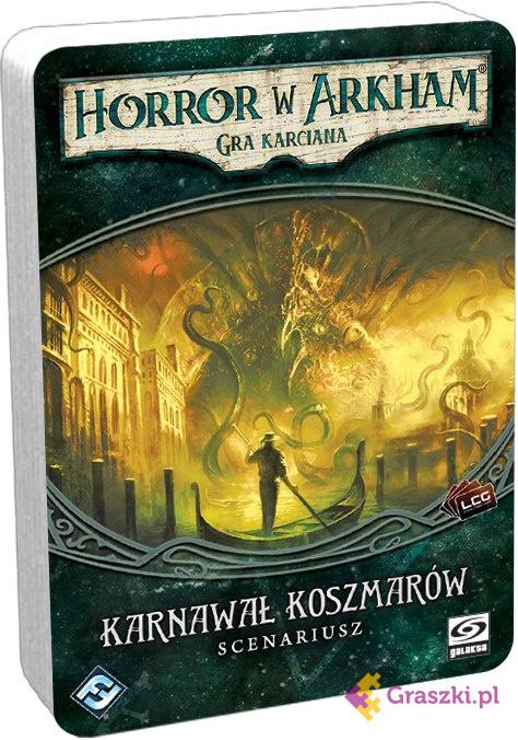 Horror w Arkham: Gra karciana - Karnawał Koszmarów | Galakta // darmowa dostawa od 249.99 zł // wysyłka do 24 godzin! // odbiór osobisty w Opolu